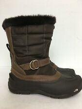 The North Face Waterproof Primaloft Winter Boots Brown #616273 Women's SZ 8