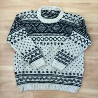 Vintage Men's Cosby Style Knit Sweater 80s 90s Retro Jumper