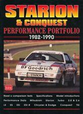 MITSUBISHI STARION & CHRYSLER & DODGE CONQUEST PERFORMANCE PORTFOLIO 1982-1990