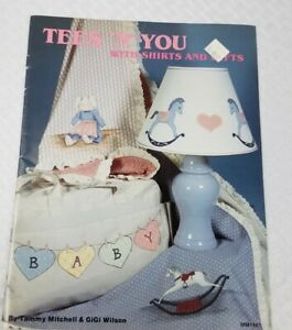 """Vintage Craft Book Tees """"N"""" You With Shirts And Gifts Tole Pattern Book MM1461"""