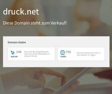 DRUCK.NET - TRAFFIC Domain!, aus 1998, für die Druckbranche, Druckerei usw.