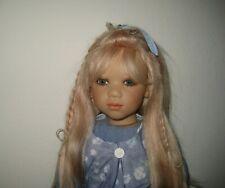 "Annette Himstedt 26"" Doll ""Griti"" Glass Eyes/Human Hair Wig"