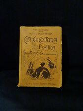 Coniglicoltura pratica – G. Licciardelli – Manuali Hoepli – 8° Edizione – 1920
