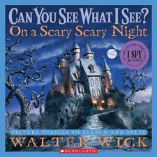 Can You See What I See?: On a Scary Scary Night: Picture Puzzles to Se-ExLibrary