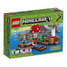 LEGO Minecraft 21129 L'ISOLA A FUNGO