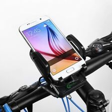 MEILAN 3-IN-1 LED Bike Light + Power Bank Phone Charger + Mobile Phone Mount