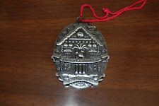 Disney Vacation Club DVC 2012 Pewter Christmas Ornament - Members Only