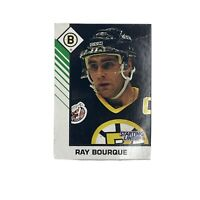 1993/94 KENNER NHLPA NHL HOCKEY CARD #77 RAY BOURQUE BRUINS
