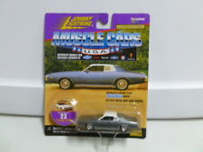 Johnny Lightning Muscle Cars U.S.A. 1973 Dodge Charger Silver