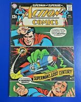 ACTION COMICS #370 SILVER AGE COMIC BOOK SUPERMAN  Neal Adams Cover ~ VG/FN