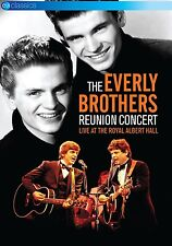THE EVERLY BROTHERS - REUNION CONCERT-LIVE AT THE ROYAL ALBERT HALL  DVD NEW+