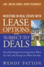 """Investing in Real Estate With Lease Options and """"Subject-To"""" Deals : Powerful St"""