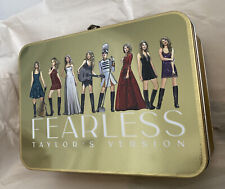 Taylor Swift Fearless Taylor's Version Lunch Box NEW SOLD OUT