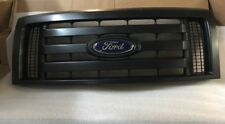 2009-10-11-12-13-2014 F150 OEM Genuine Ford Parts XL Model Black Grille w/Emblem