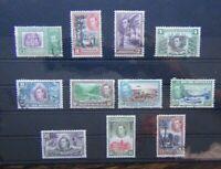 British Honduras 1938 - 1947 to $2 Used