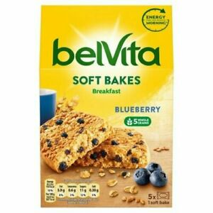 4 PACKS OF 250g Belvita Soft Bakes PACKS  10 BAKES IN TOTAL  (beu2)