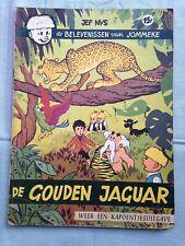 Jommeke 16 - De gouden jaguar - 1e druk