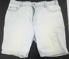 Vintage Saugatuck Dry Goods Company LTD Denim Shorts Size 42 Light Wash