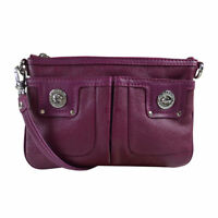 NWT Marc by Marc Jacobs Totally Turnlock Carmine Leather Percy Crossbody Bag