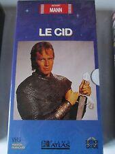 Le Cid de Anthony Mann, VHS Atlas, Action, NEUF!!