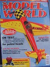 RCMW RC MODEL WORLD OCTOBER 2010 HANRIOT HANDY PLAN YAK 55M DOUGLAS SKYRAIDER