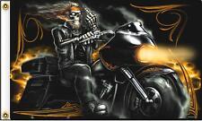 BIKER MIDDLE FINGER MOTORCYCLE FLAG wall banner #527 BIKER 3x5 sign flags new