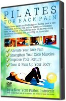 Pilates For Lower Back Pain DVD Fitness Video Workout Improve Posture NEW