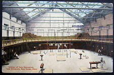 New Haven CT~1900's Interior of YALE GYMNASIUM ~ YALE UNIVERSITY