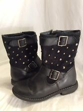 STARRITE Kids Leather Boots Size 29F