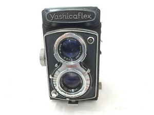 【As-is】Yashica flex w/ Yashicor 80mm f3.5 from JAPAN