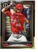 Paul Goldschmidt 2020 Topps Tribute 5x7 Gold #80 /10 Cardinals
