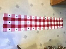 New listing Patriotic Americana 4th of July Stars Woven Cotton Table Runner 13�x69.5