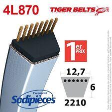 Courroie tondeuse 4L870 Tiger Belts. 12,7 mm x 2210 m