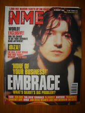 NME 1998 AUG 15 EMBRACE MANSUN RUN DMC RINGO BABYBIRD