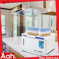 16L Hot Towel Warmer Cabinet Uv Sterilizer Heater Spa Salon Beauty Equipment Usa