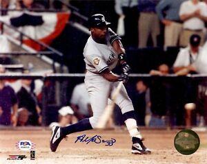 Alfonso Soriano autographed signed 8x10 photo MLB New York Yankees PSA COA