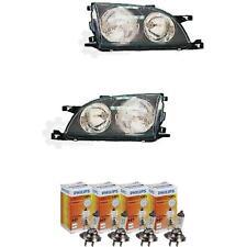 Halogen Scheinwerfer Set für Toyota Avensis 10.97-6.00 H7/H7 ohne Motor