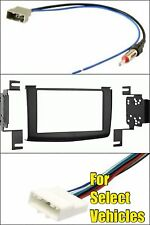Double Din Car Stereo Radio Dash Trim Kit Combo for 2008 2009 2010 Nissan Rogue