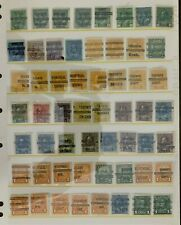 Canada Stamps Pre Cancels Used (2 Pages)