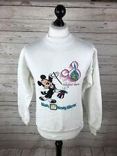 DISNEY 20 Years of Magic Sweatshirt - Medium - White - Great Condition - Mens