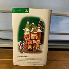 Used Dept 56 Jenny's Corner Book Shop Christmas In The City 58912