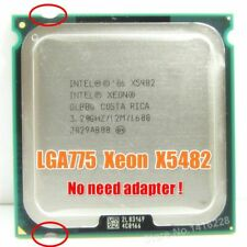 XEON X5482 Processor 3.2GHz 12M 1600M equal to LGA775 Core 2 Quad Q9650 45 Nan..