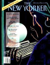 NEW YORKER MAGAZINE 2 NOV 1998, SPECIAL NEXT ISSUE, AL GORES BIG BRAIN,
