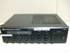 University Sound AR 355 mixer RECEIVER amplifier PUBLIC ADDRESS PHONE SYSTEM