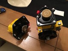 subaru impreza power steering pump with radiator header tank powder coated Tanks
