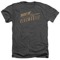 Oldsmobile RETRO 88 Licensed Adult Heather T-Shirt All Sizes