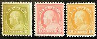 508/509/510 Mint, OG, NH/H