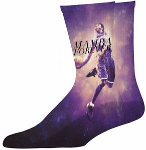 Kobe Bryant Mamba Forever Cool Socks, Unisex,Graphic, Crew,Novelty,Funny,Silly