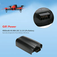4000mAh 44.4Wh 20C 11.1V LiPo Battery for Parrot Bebop 2 RC Drone Quadcopter