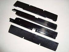 Lgb 20560 Series Diesel Loco Black Plastic Walkway & Support Parts Set 4 Pieces!